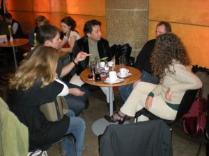 Im City Kino Linz vor der Film