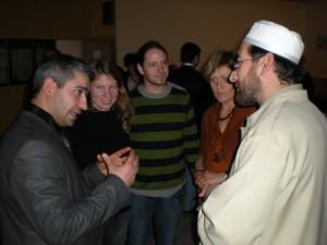 Gespräche in der Moschee