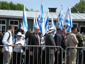 Die israelische Delegation
