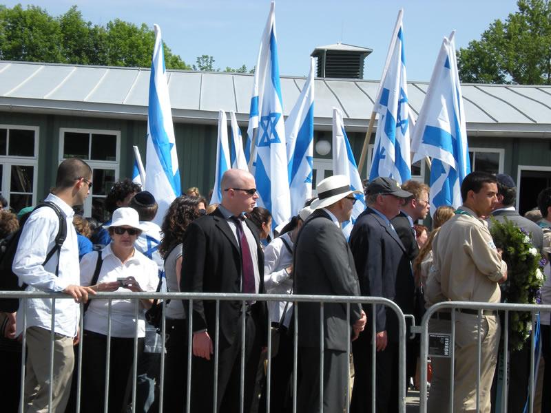 Befreiungsfeier in Mauthausen, Mai 2009