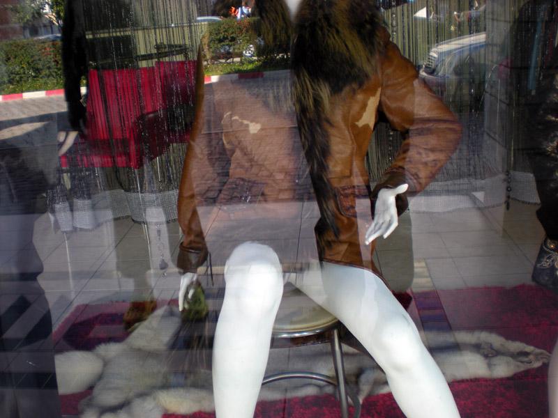 Selbstportrait mit Shopping, Kemer, Türkei, Jänner 2010